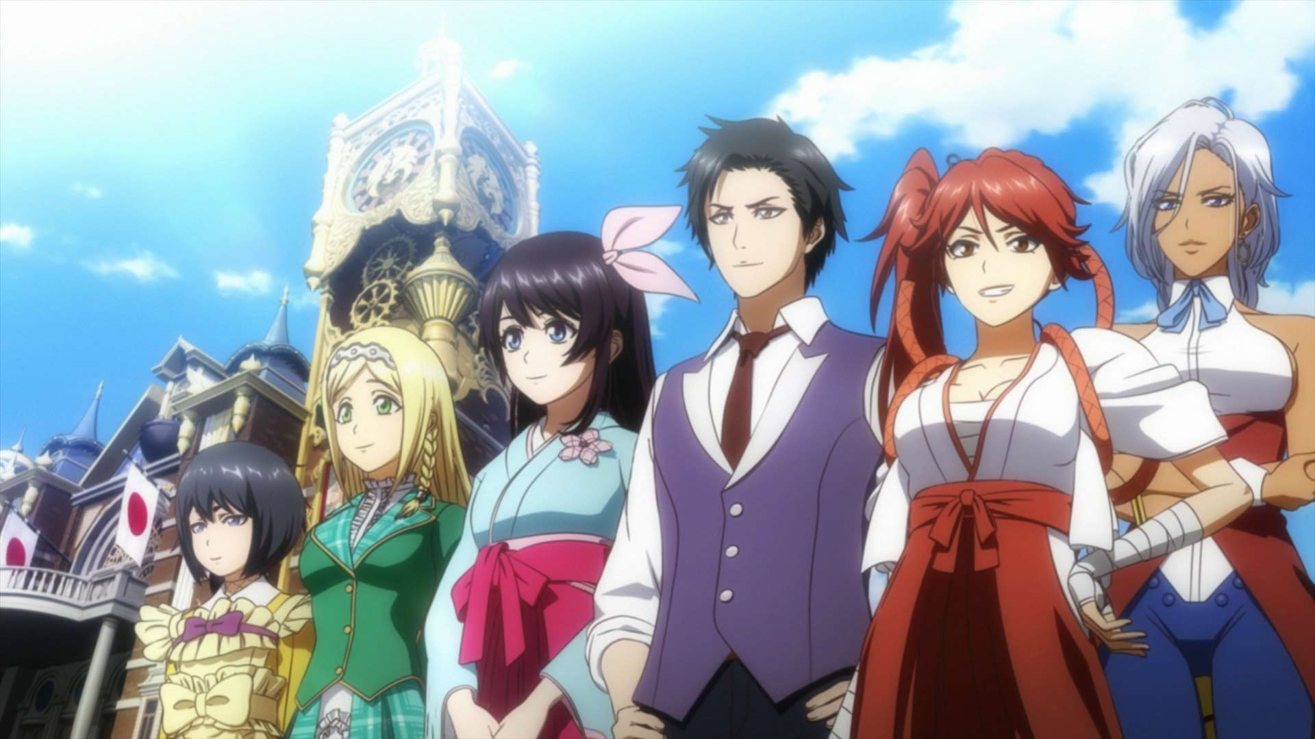 Sakura Wars - Screenshot 1
