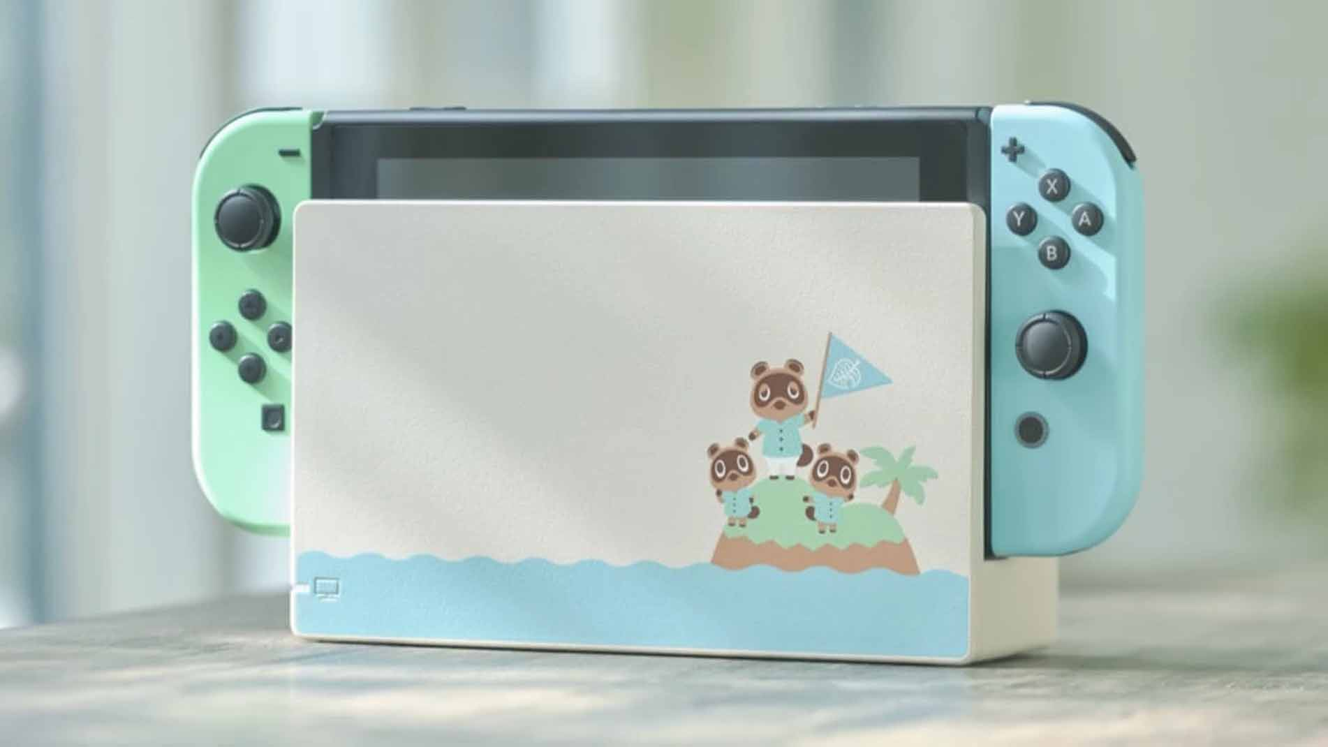 Nintendo Switch Animal Crossing New Horizons Special Edition Console - Screenshot 3