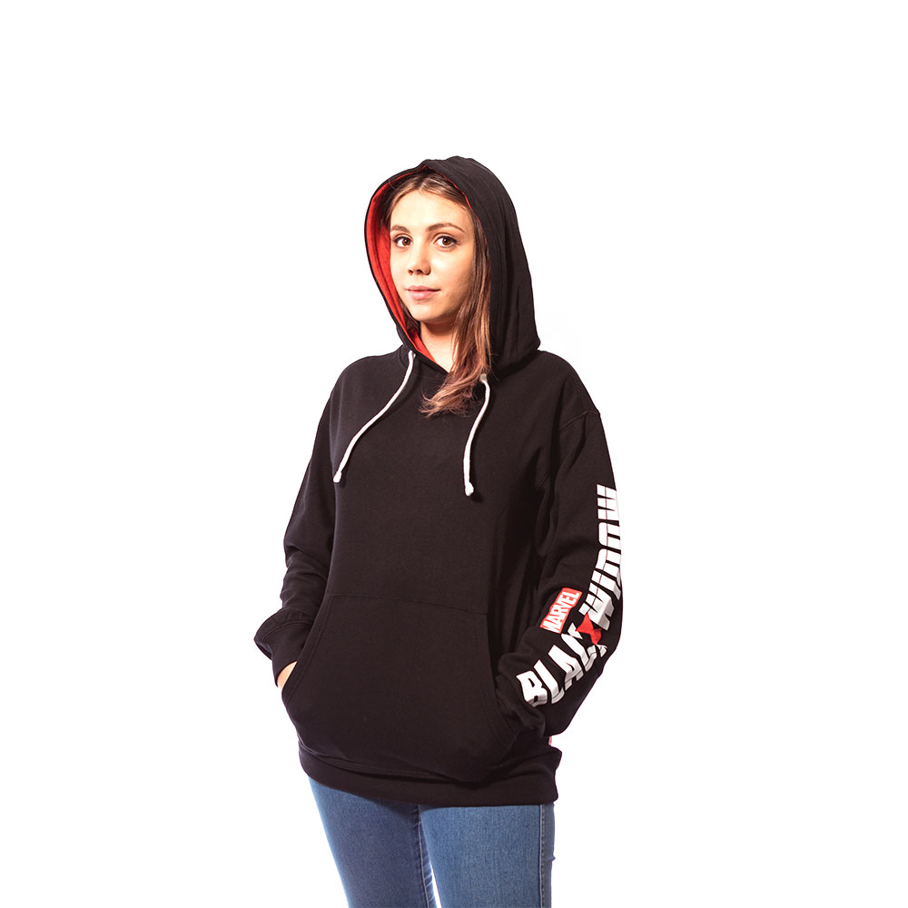 Marvel - Black Widow - Black & Red Hoodie - XXL - Screenshot 2