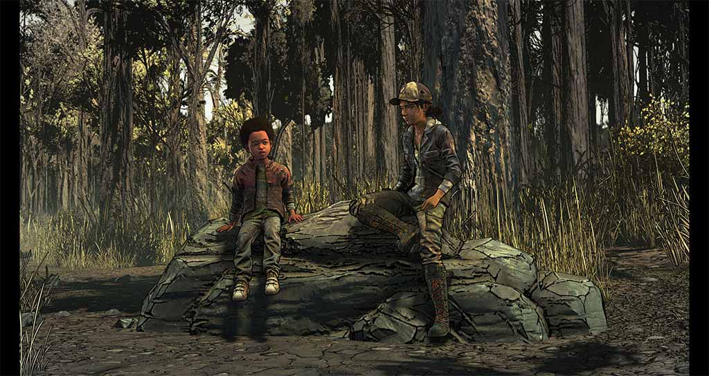 The Walking Dead: The Telltale Series  - The Final Season - Screenshot 1