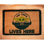 Star Wars - The Mandalorian - The Child Lives Here Doormat - Screenshot 1