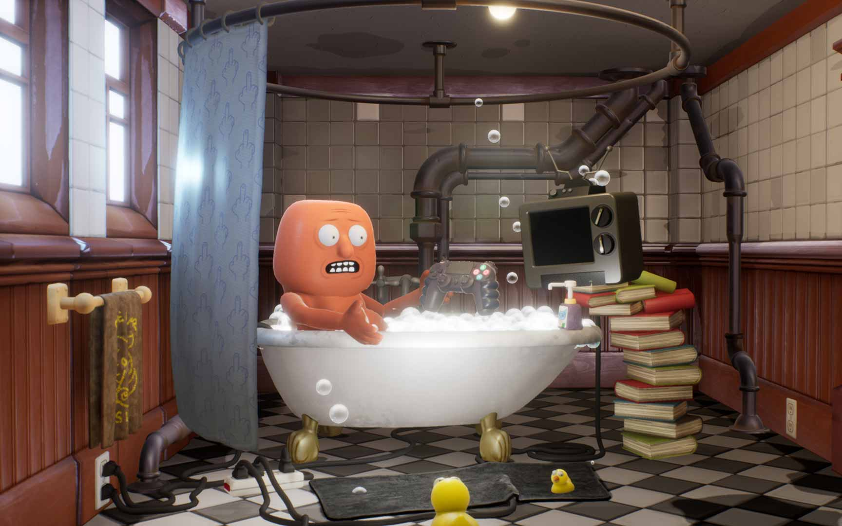 Trover Saves The Universe - Screenshot 1