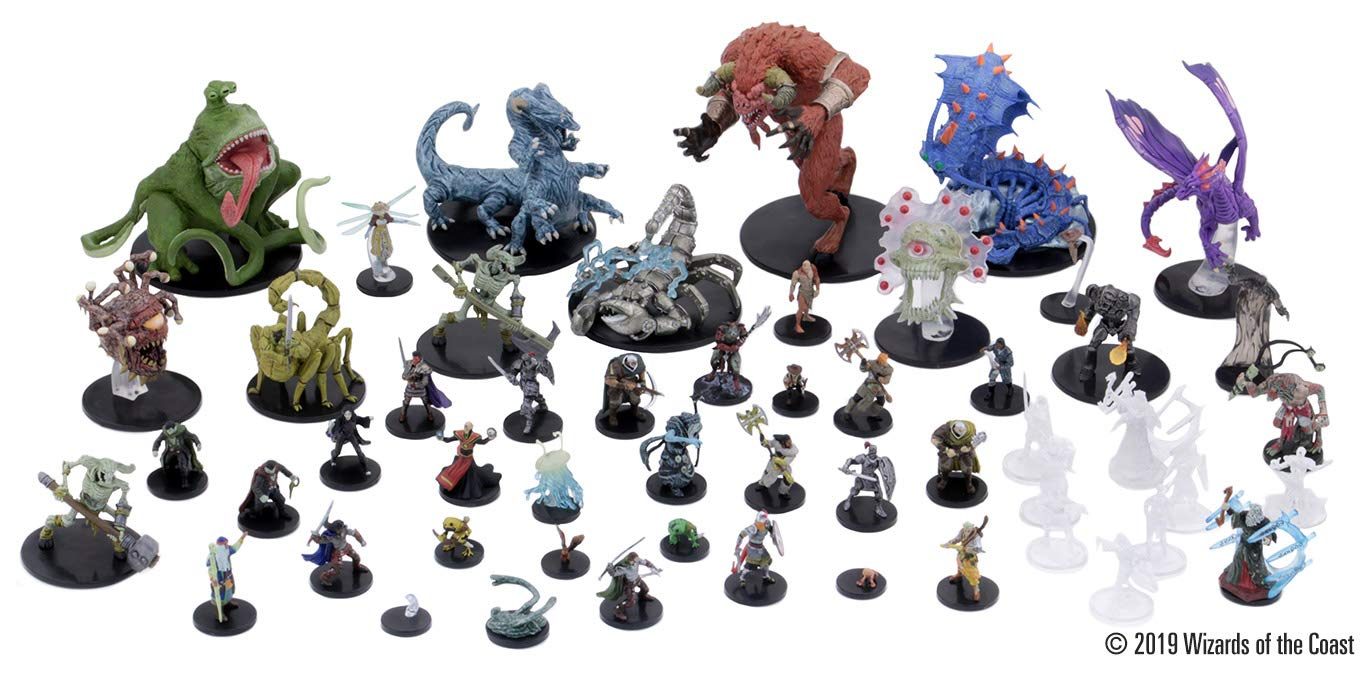 Dungeons & Dragons - Waterdeep: Dungeon of the Mad Mage Figure 4-Pack Blind Box (Single Box) - Screenshot 1