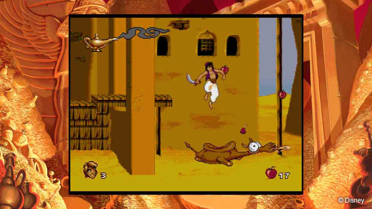 Disney Classic Games – Aladdin and The Lion King - Screenshot 2