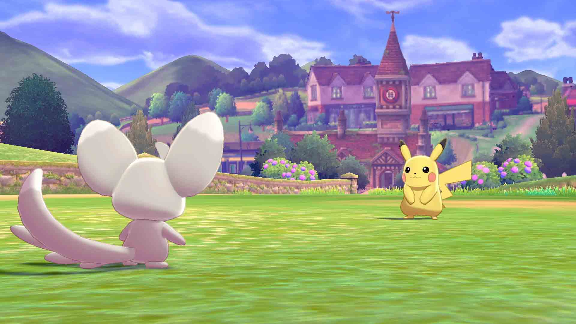 Pokemon - Sword - Screenshot 2