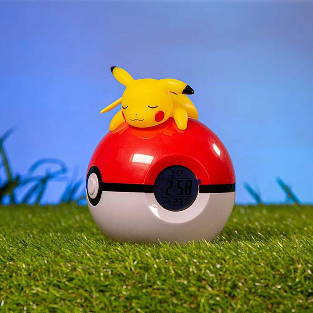 Pokemon - Pikachu Alarm Clock & Lamp - Screenshot 1
