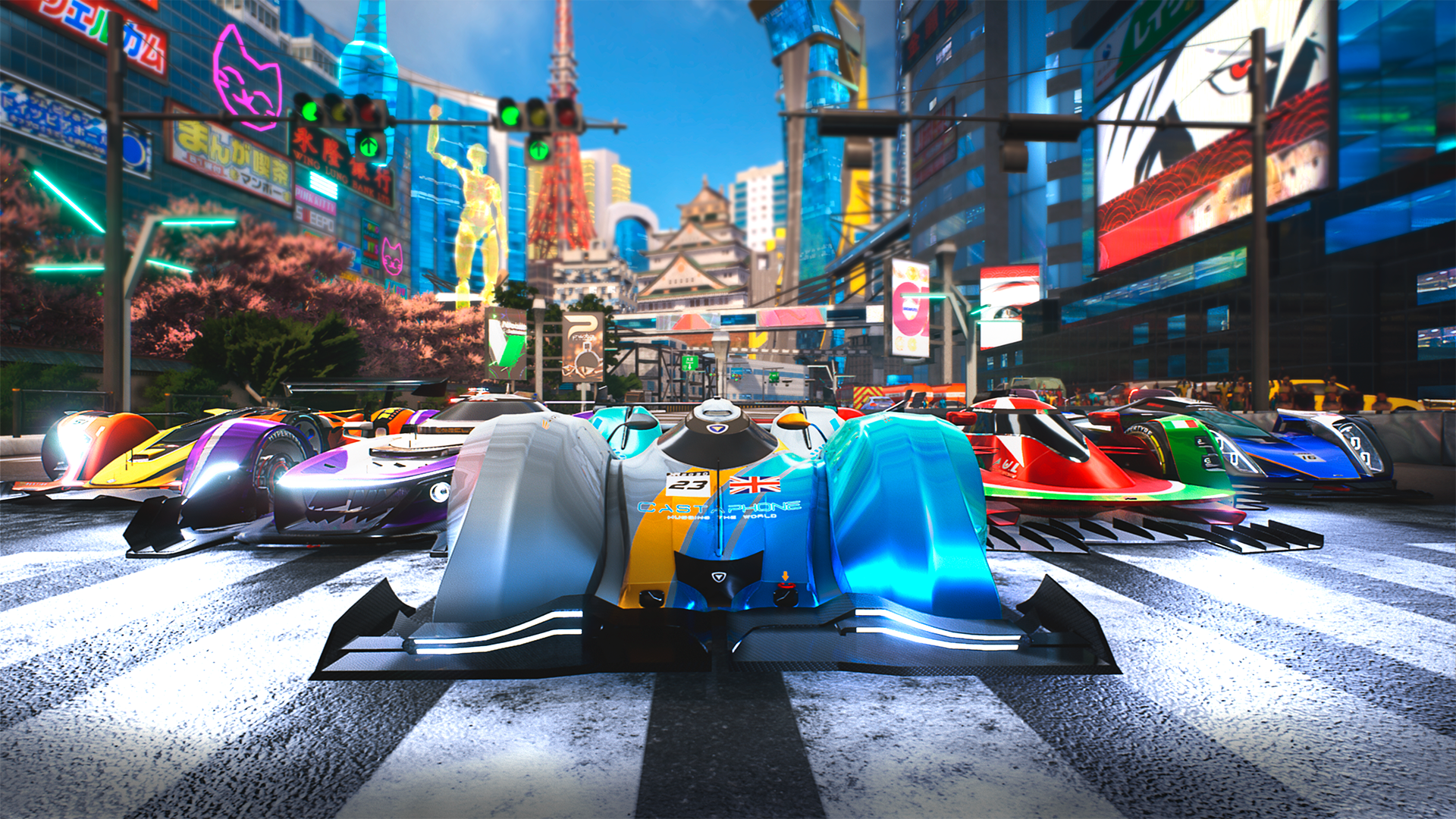 Xenon Racer - Screenshot 1