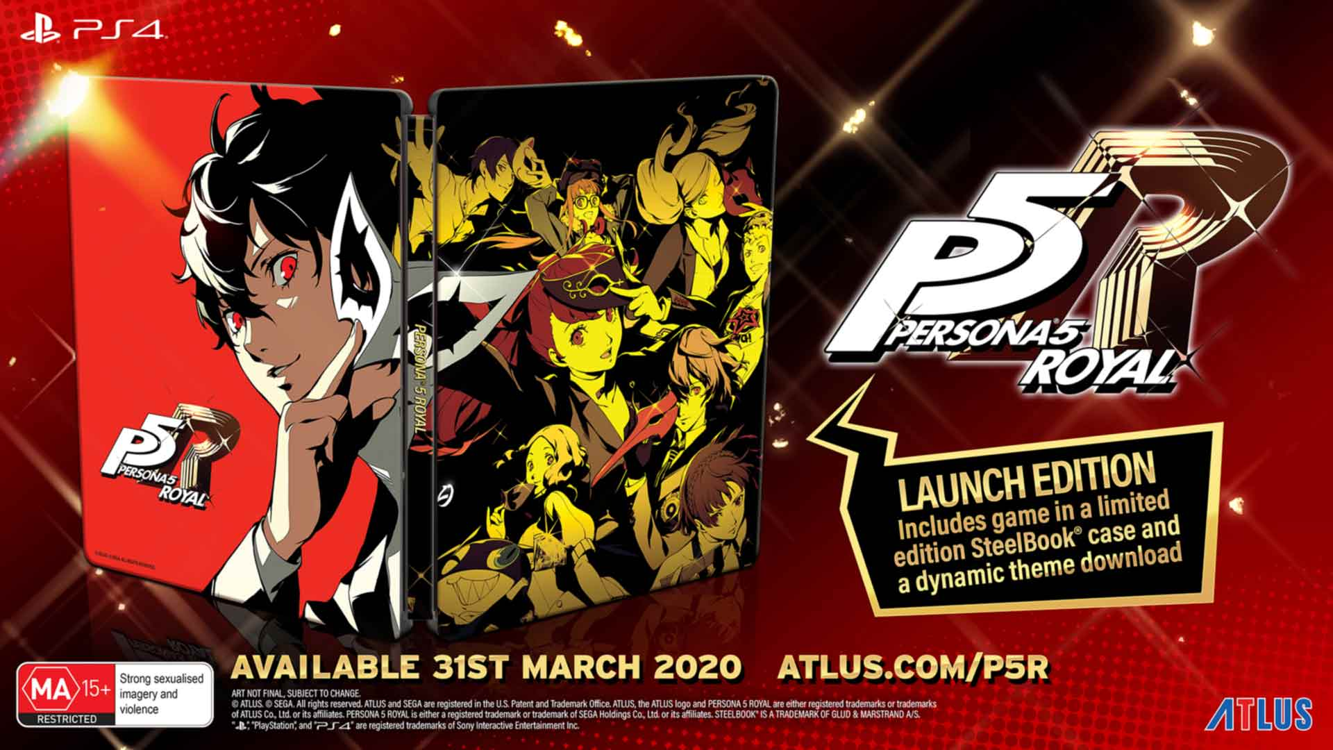 Persona 5 Royal Launch Edition - Screenshot 1