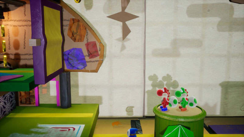Yoshi's Crafted World - Screenshot 1