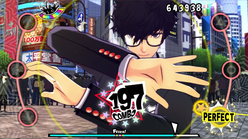 Persona 5: Dancing in Starlight - Screenshot 1