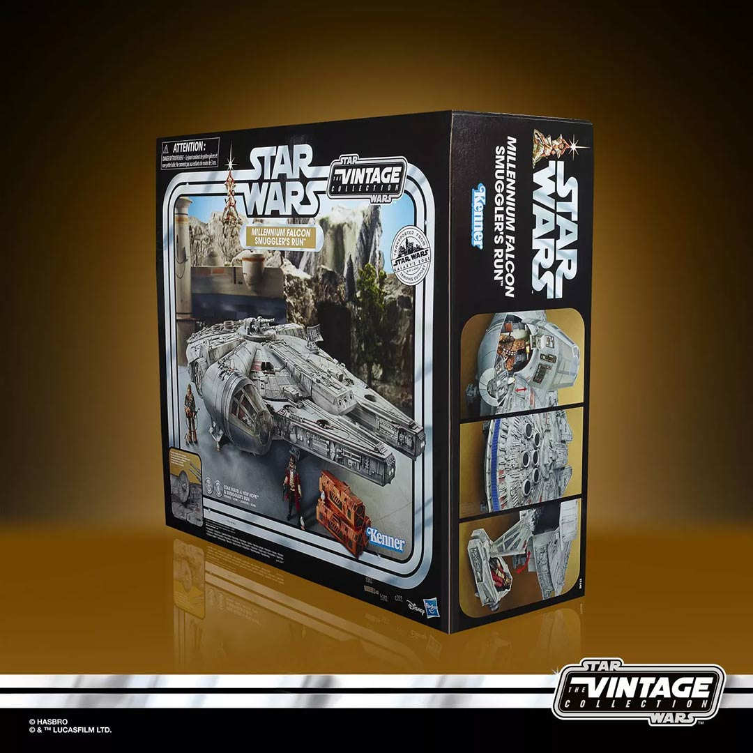 Star Wars - The Vintage Collection Galaxy's Edge Millennium Falcon Smuggler's Run Playset - Screenshot 7