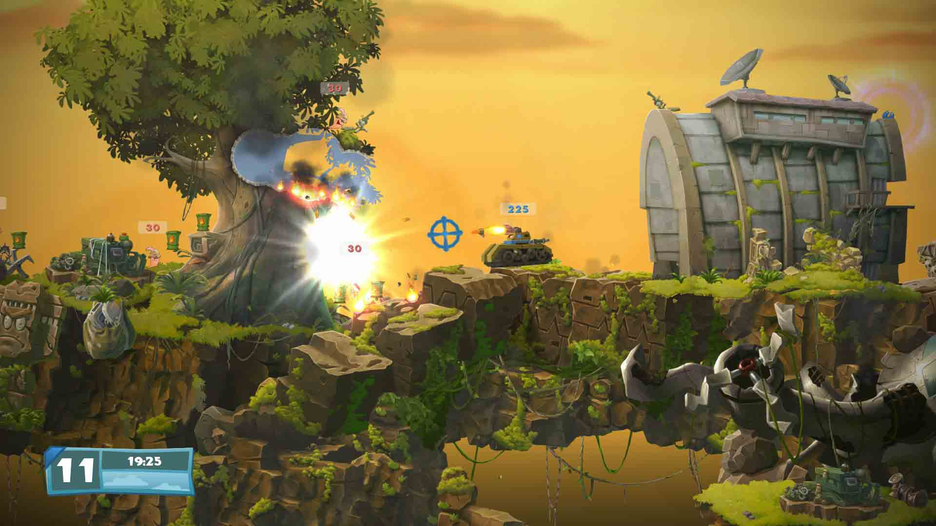 Worms Battlegrounds + Worms WMD - Screenshot 1