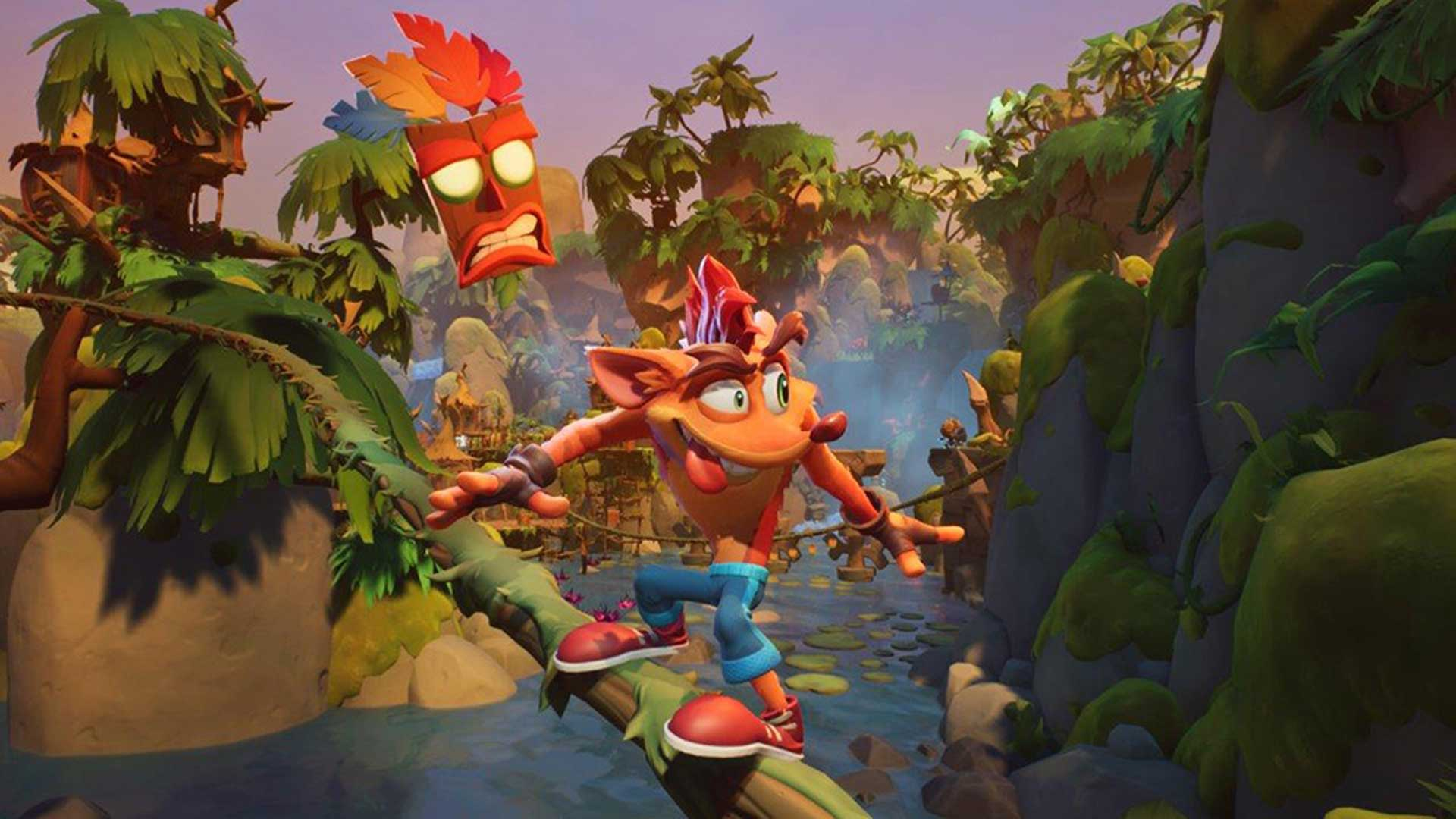 Crash Bandicoot 4: It's About Time - Screenshot 1