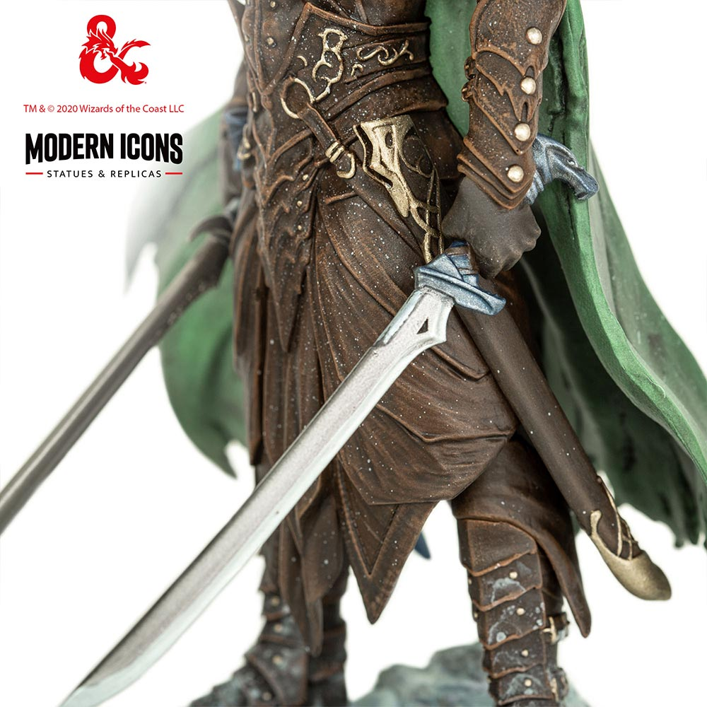 Dungeons & Dragons - Drizzt Do'Urden Modern Icons Statue - Screenshot 1