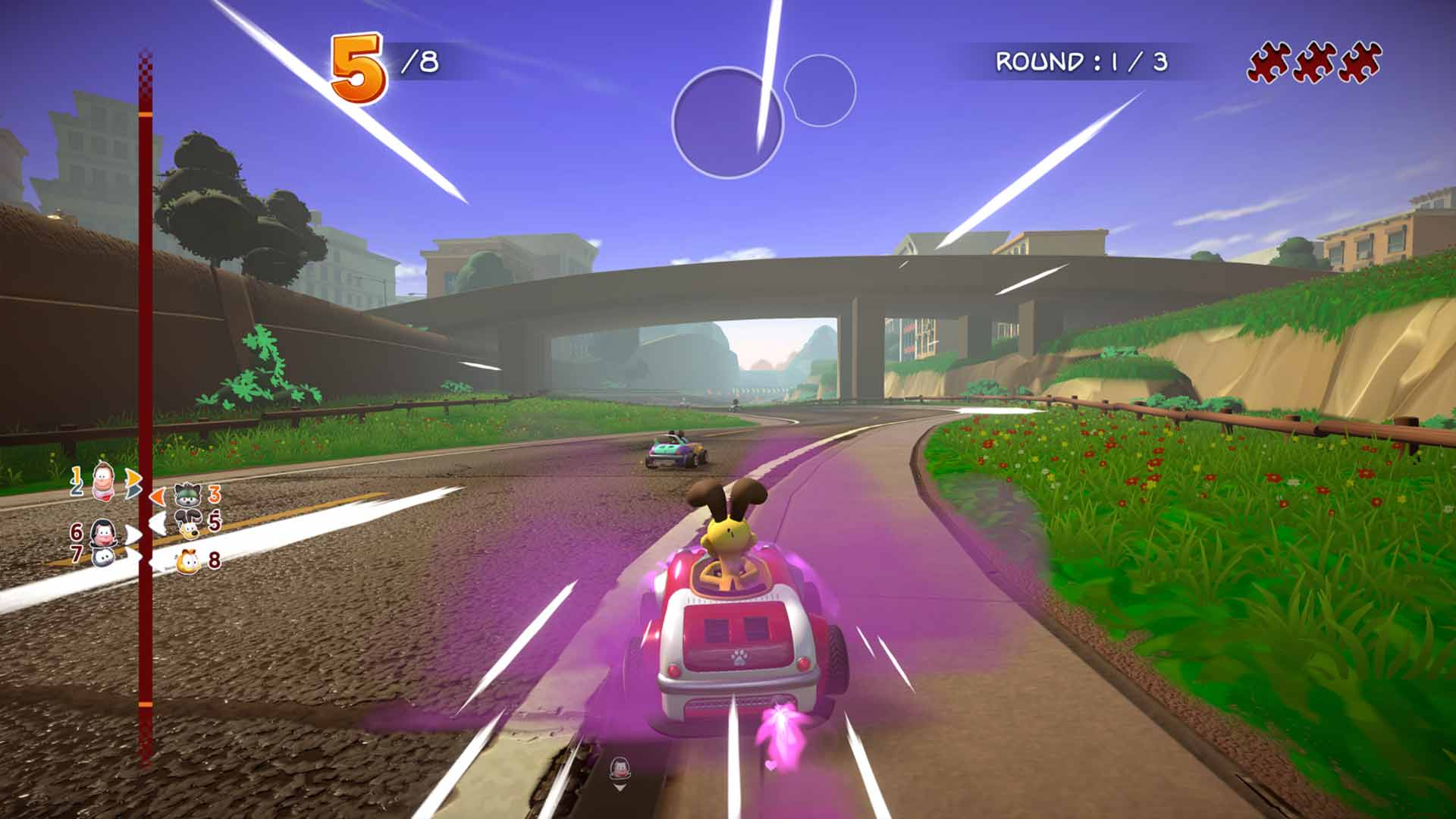 Garfield Kart: Furious Racing - Screenshot 4