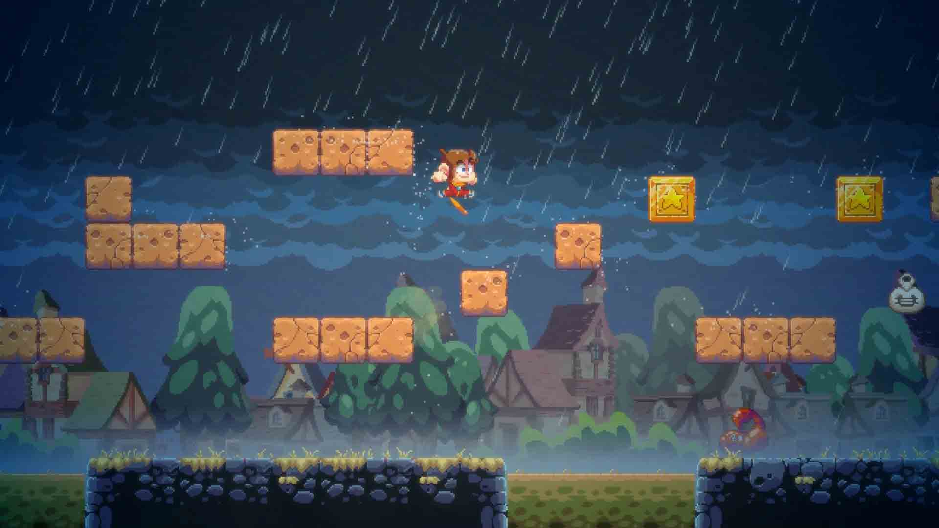 Alex Kidd in Miracle World DX - Screenshot 4