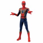Marvel - Avengers: Endgame - Iron Spider with Web Accessories Metacolle Figure - Screenshot 1