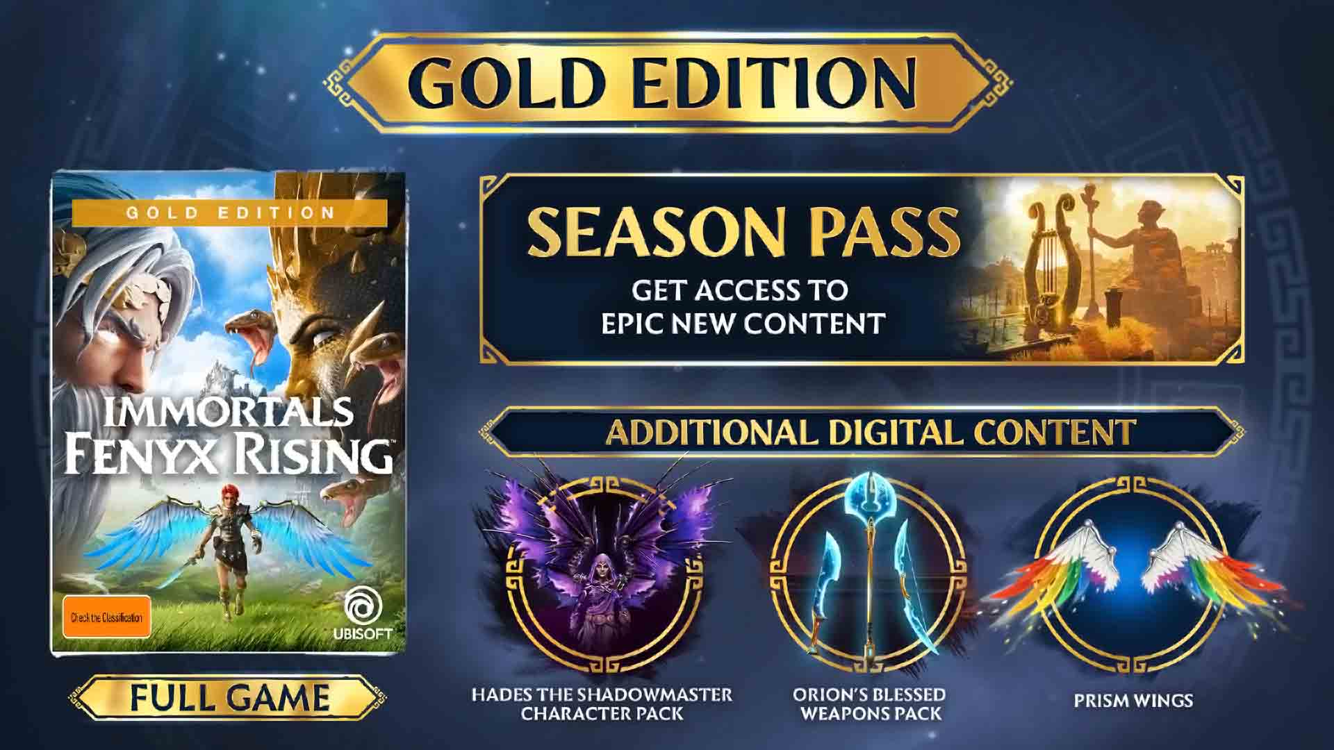 Immortals Fenyx Rising Gold Edition - Screenshot 1