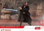 Star Wars - Episode VIII - Luke Skywalker (Crait) 1/6 Scale Collectible Figure - Screenshot 2