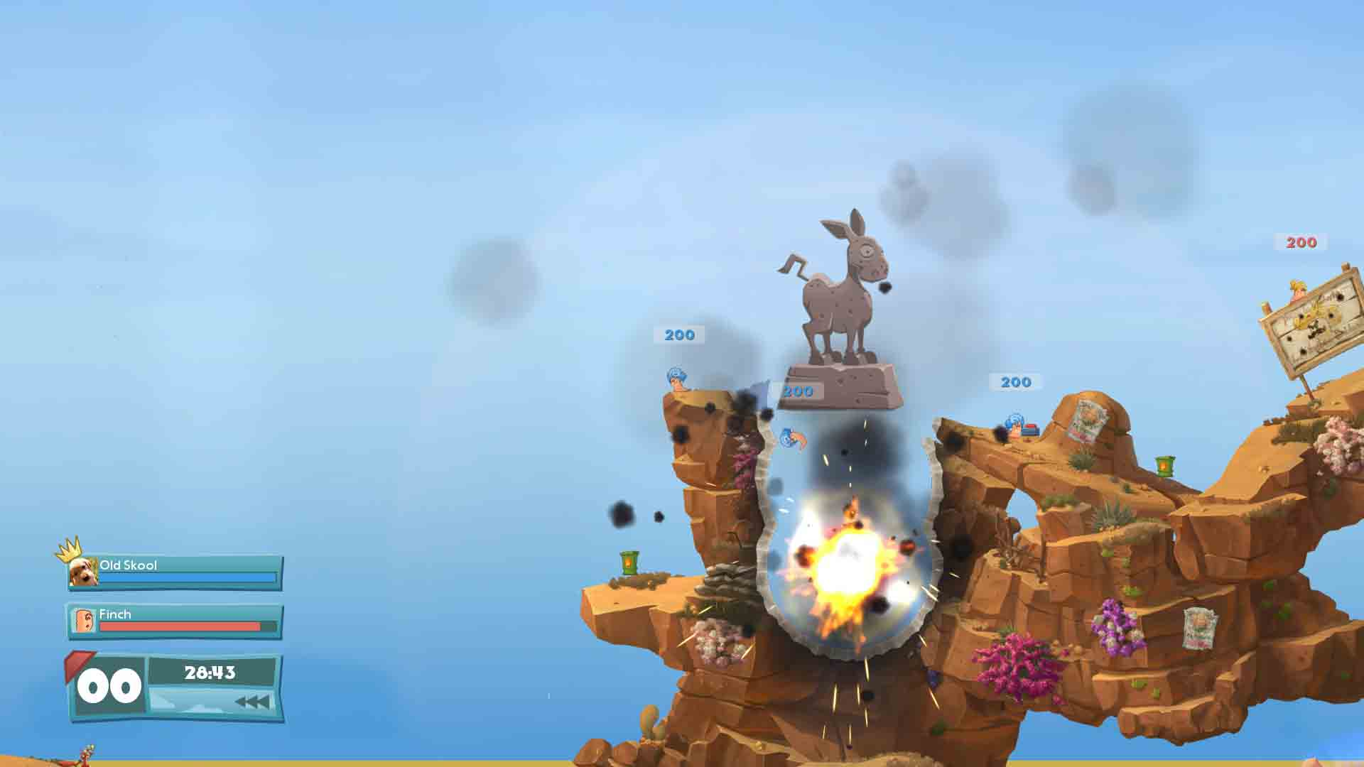 Worms Battlegrounds + Worms WMD - Screenshot 2