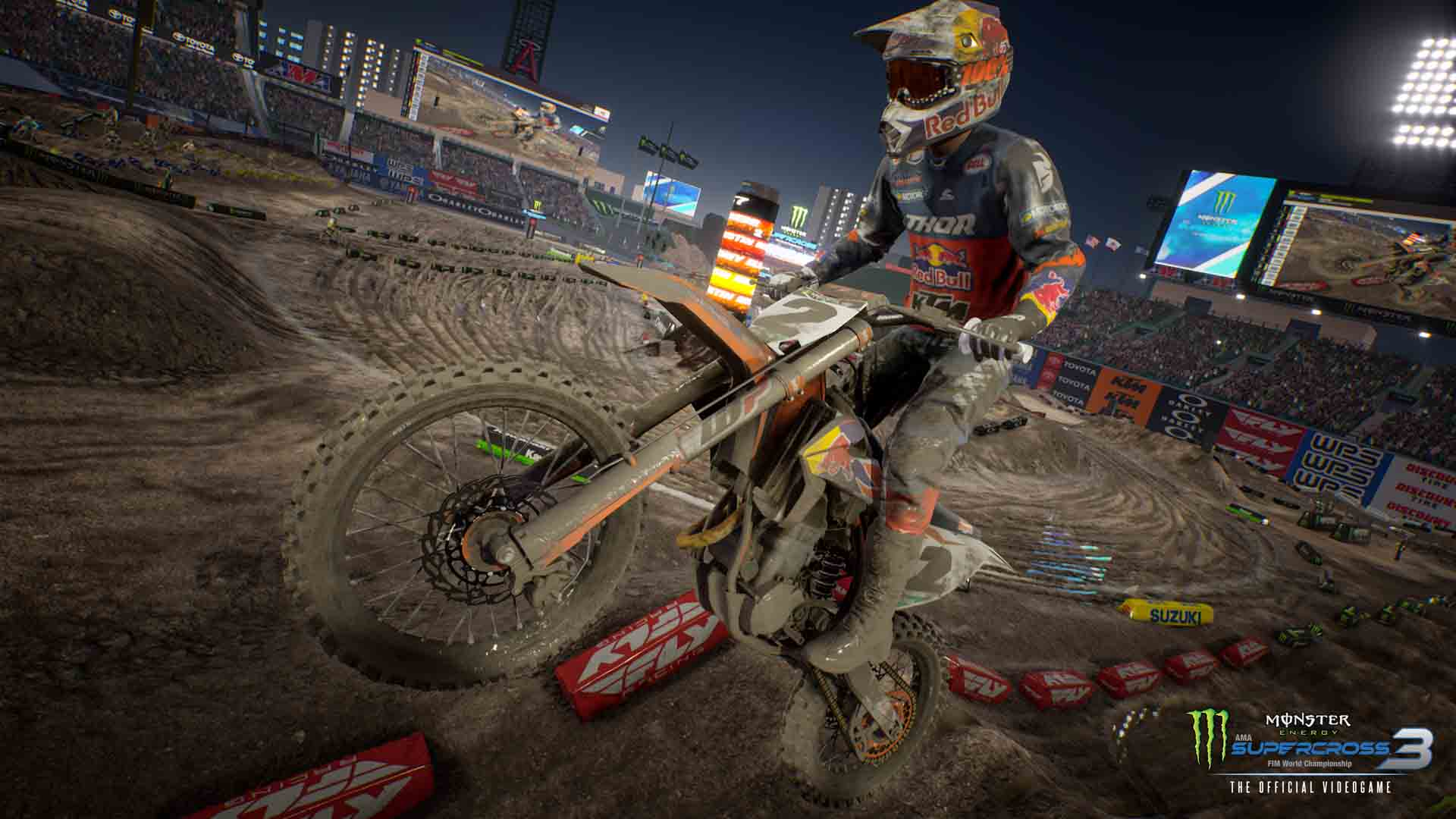 Monster Energy Supercross - The Official Videogame 3 - Screenshot 3