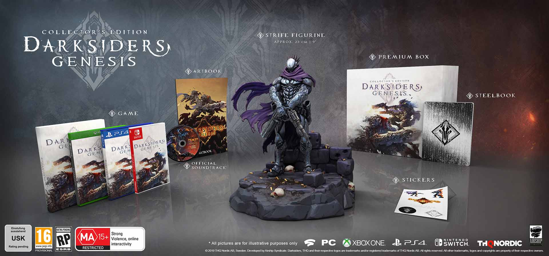 Darksiders Genesis - Collectors Edition - Screenshot 1