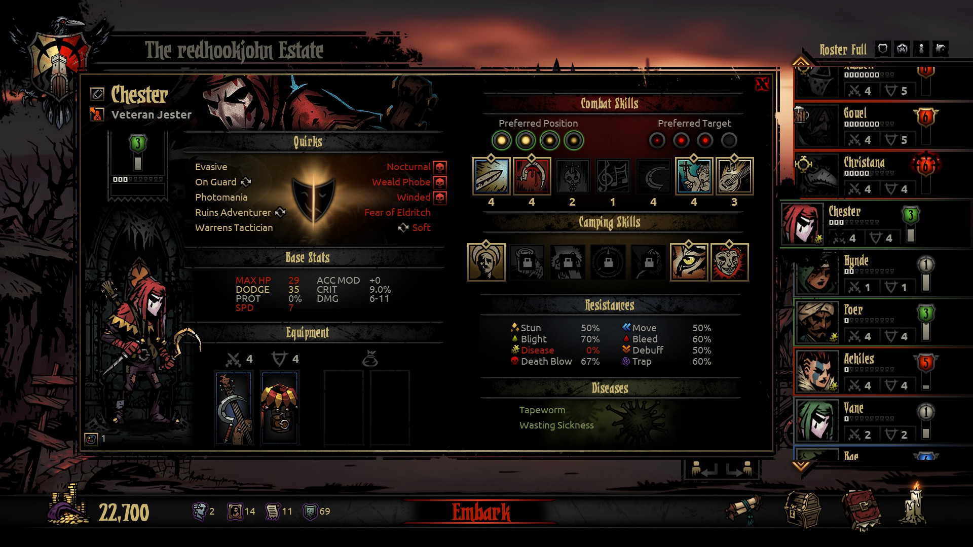Darkest Dungeon Collector's Edition - Screenshot 8