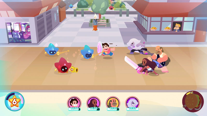 Steven Universe - Save the Light & OK K.O. Let's Play Heroes - Screenshot 4