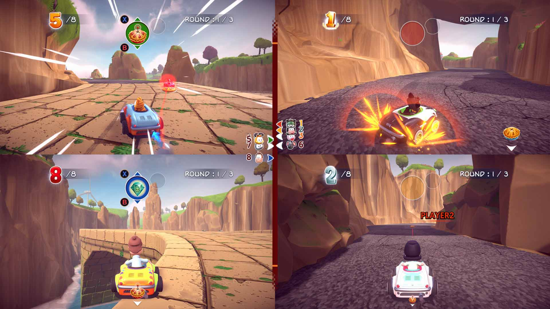 Garfield Kart: Furious Racing - Screenshot 8