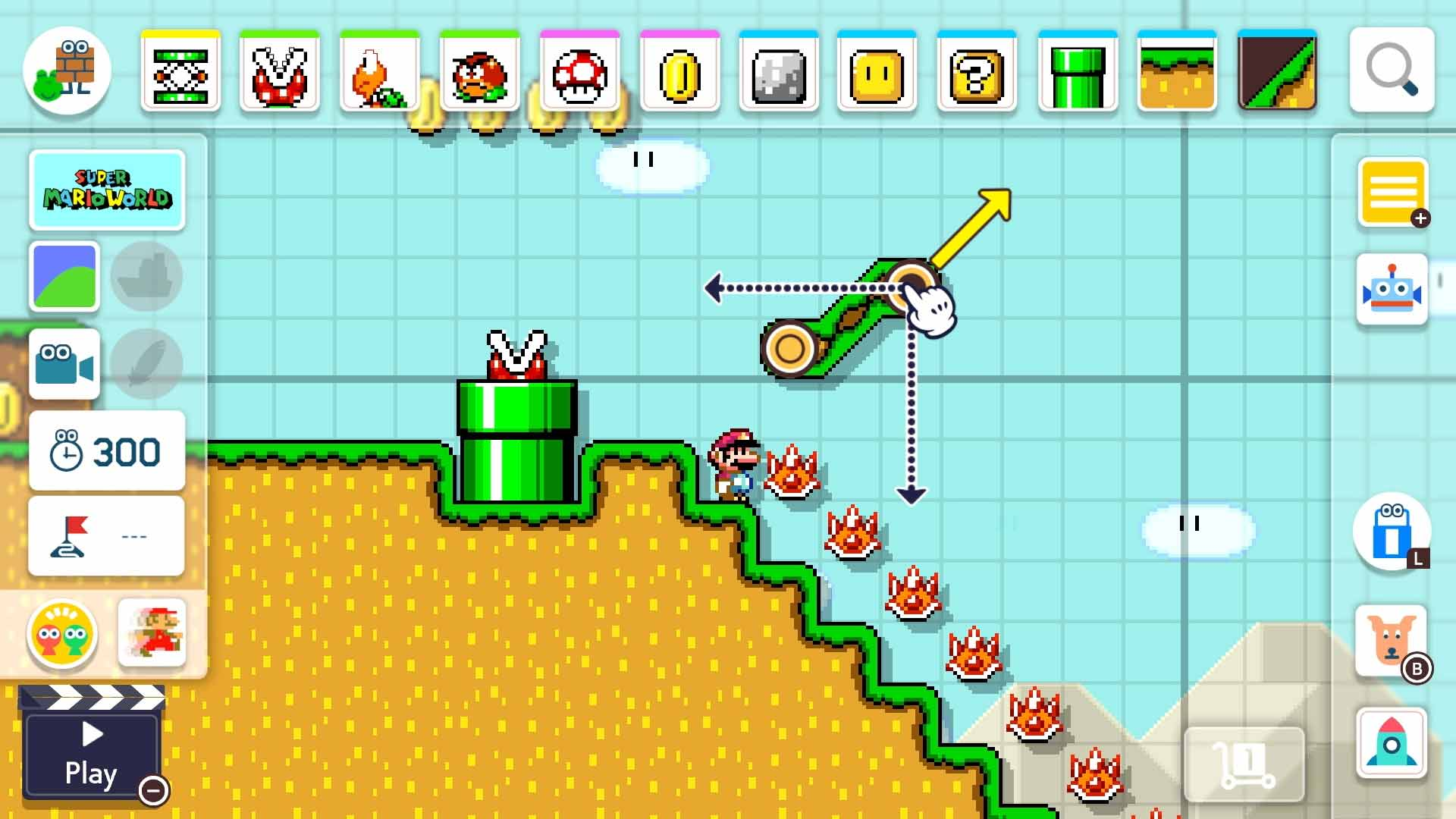 Super Mario Maker 2 - Screenshot 2