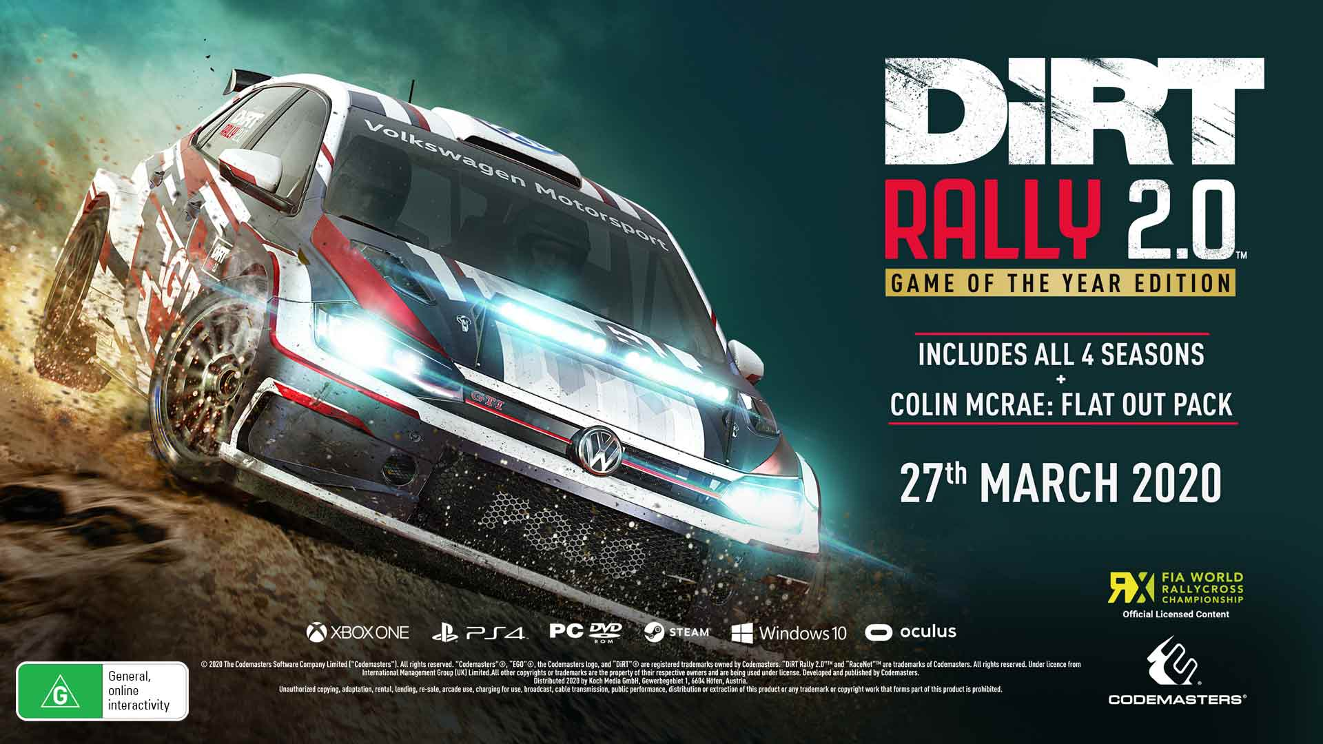 Dirt Rally 2.0 Game Of The Year Edition - Screenshot 1