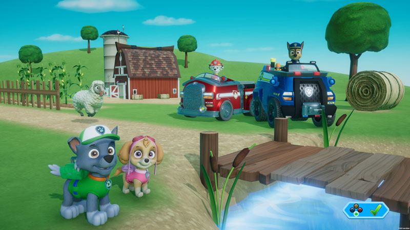 Paw Patrol on a Roll - Screenshot 4