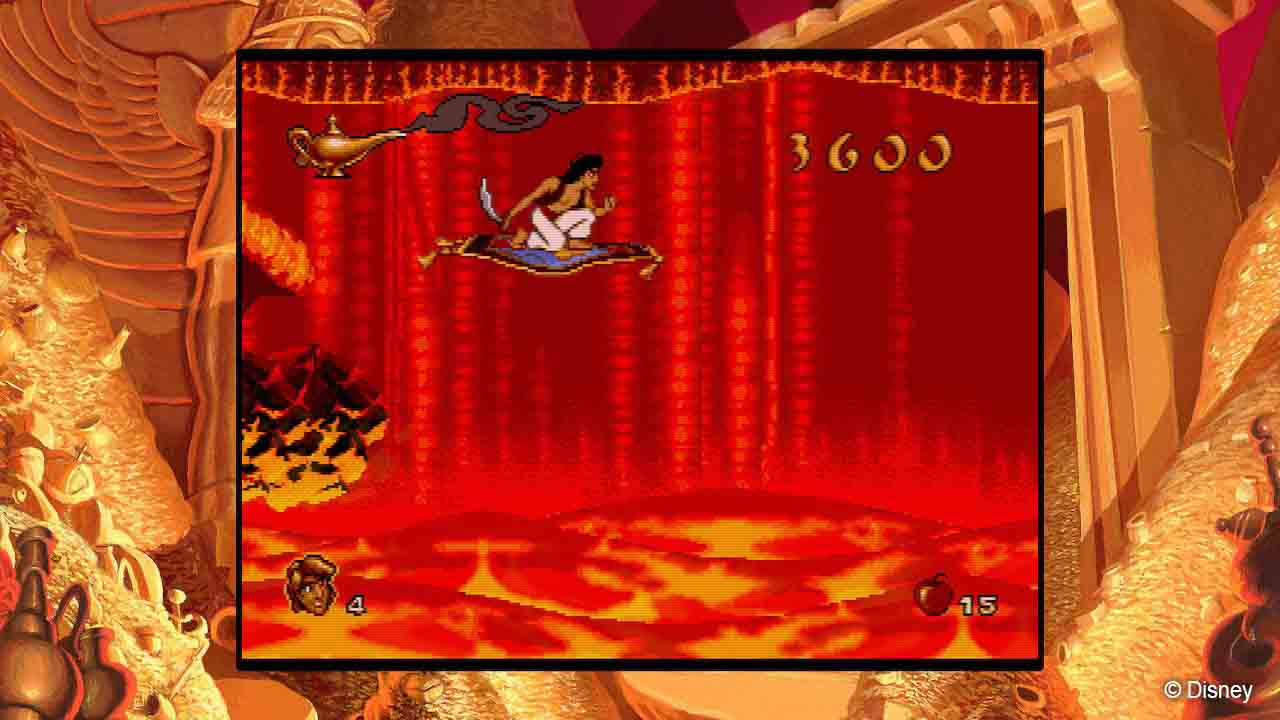 Disney Classic Games – Aladdin and The Lion King - Screenshot 1