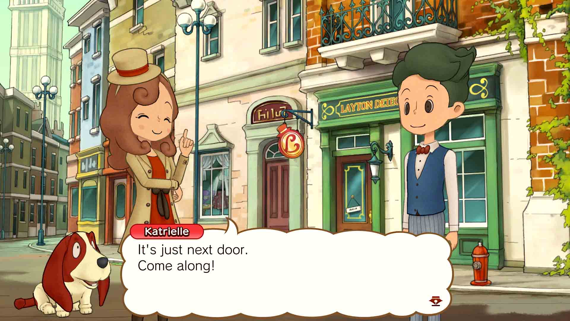 Layton's Mystery Journey: Katrielle The Millionaires Conspiracy Deluxe Edition - Screenshot 4