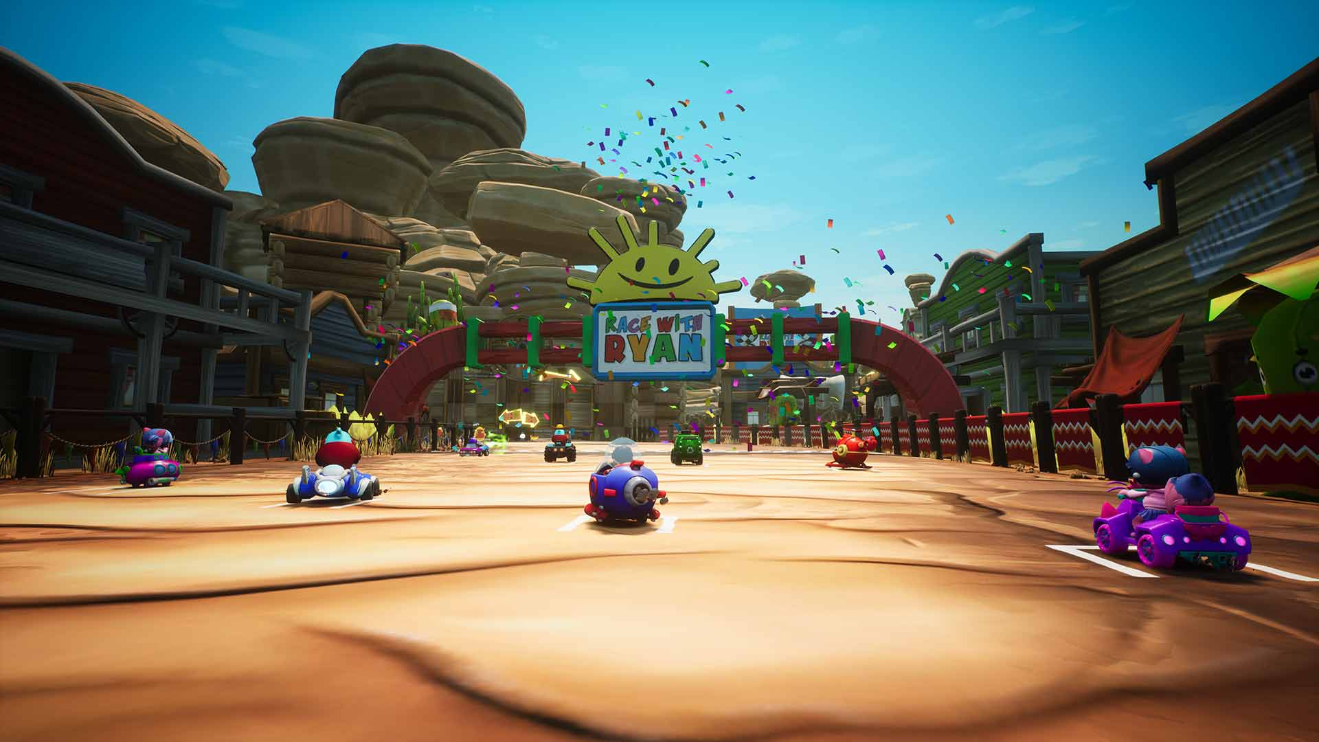 Race With Ryan - Screenshot 2