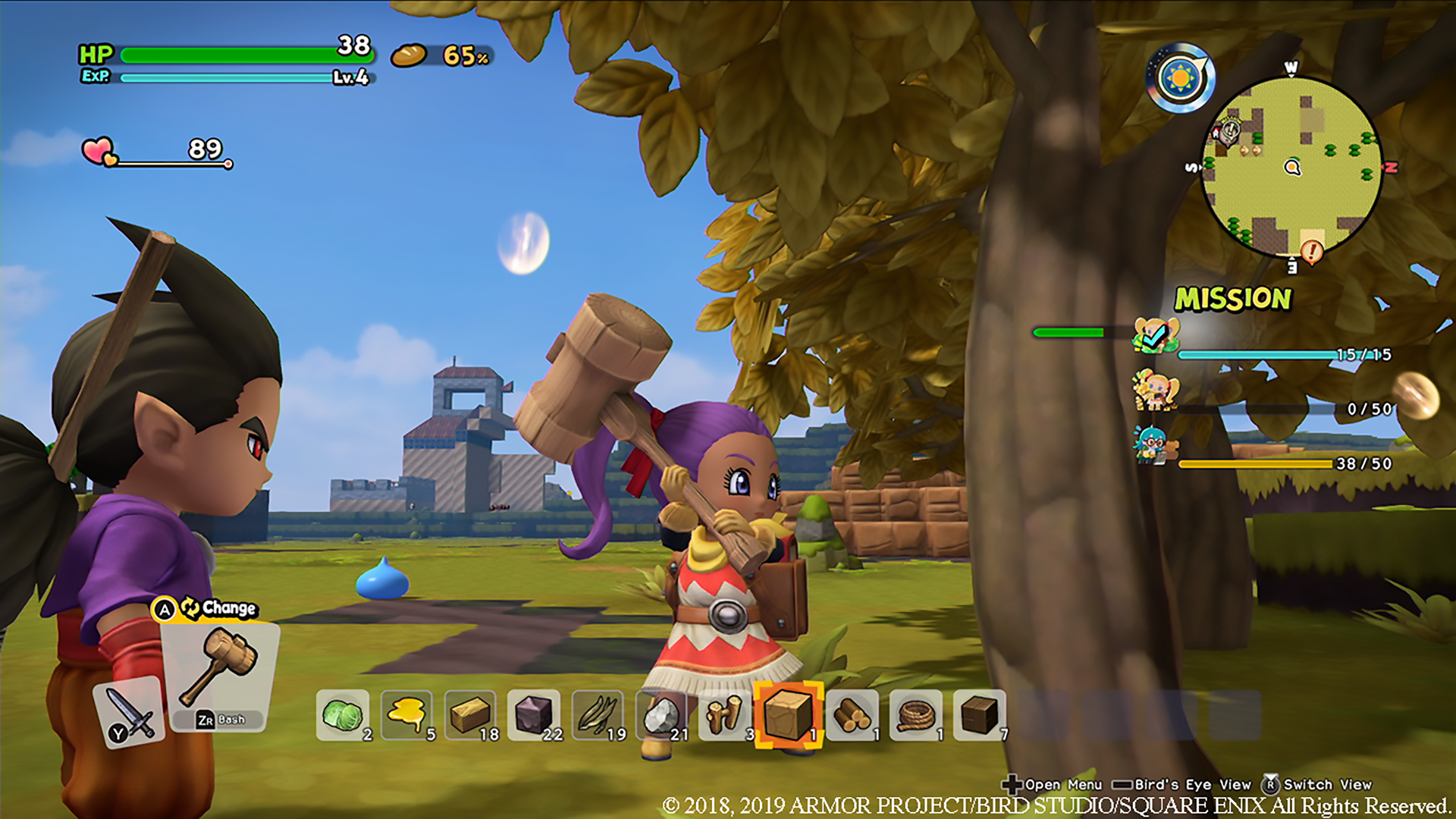 Dragon Quest Builders 2 - Screenshot 2